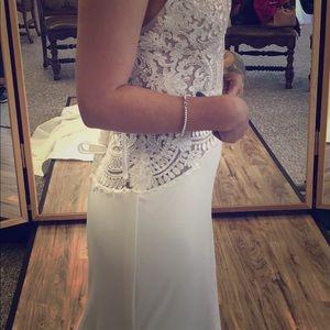 Mori lee prom/wedding dress